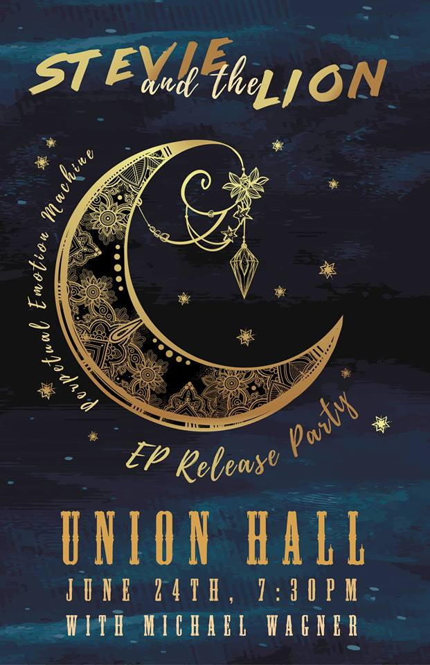 Michael Wagner with Stevie and the Lion at Union Hall, Brooklyn June 24th 2017